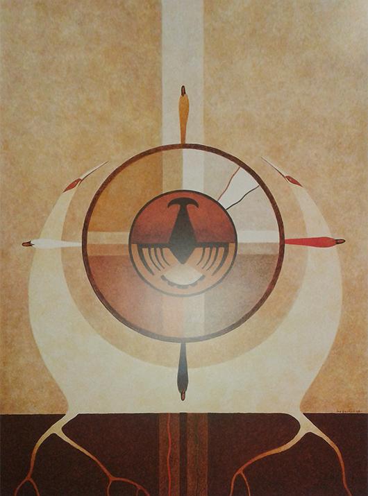"""""""Circle of Life"""" Joe Geshick"""
